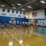 JV Girls Volleyball vs. Churchill, 9/8/17