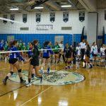 Varsity Girls Volleyball vs. Churchill, 9/8/17