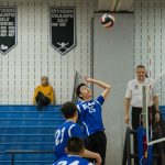 Boys Volleyball vs. Churchill, 4/4/18