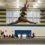 Blake defeats Springbrook in Gymnastics