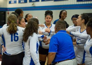 Photos: JV Girls Volleyball vs. B-CC, 9/11/18