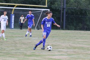 Photos: JV Boys Soccer vs. Magruder, 9/20/18
