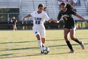 Photos: JV Girls Soccer vs. Poolesville, 10/3/18