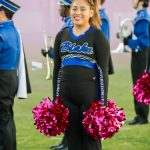 Photos: Poms - Homecoming Game, 10/12/18