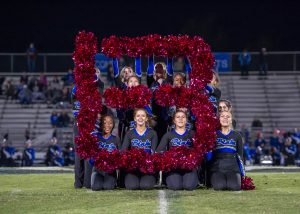 Photos: Poms – Homecoming Game, 10/12/18