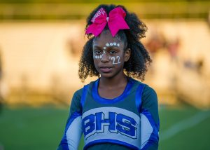 Photos: Varsity Cheer – Homecoming Game, 10/12/18