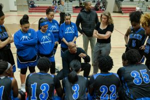 Photos: Varsity Girls Basketball at Wheaton, 12/8/18