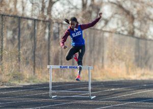 Girls Track and Field Photos vs. Sherwood, 3/26/19