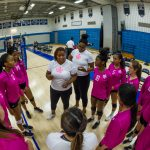 Varsity Girls Volleyball Photos vs. Magruder, 10/7/19