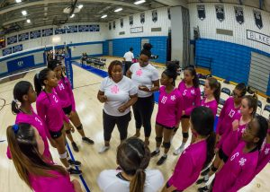 Varsity Girls Volleyball Photos vs. Magruder, 10/7/19