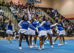 Varsity Cheer Photos – County Competition, 10/26/19