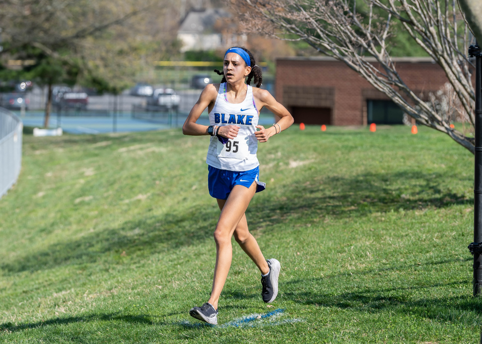 Girls Cross Country Photos – 4/8/21 at Sherwood