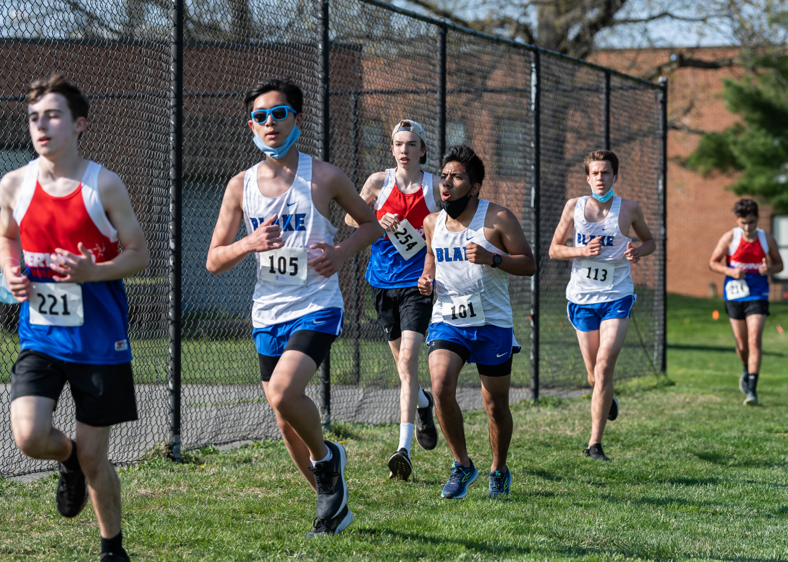 Boys Cross Country Photos – 4/8/21 at Sherwood