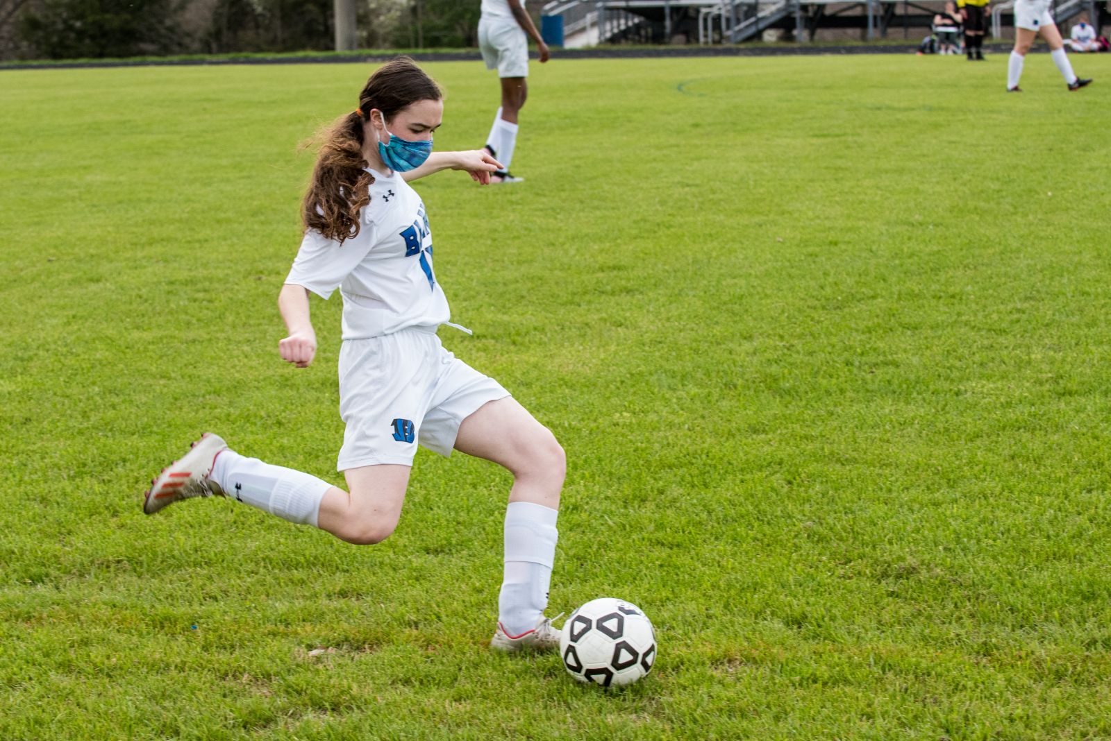 JV Girls Soccer Photos – 4/7/21 at Magruder