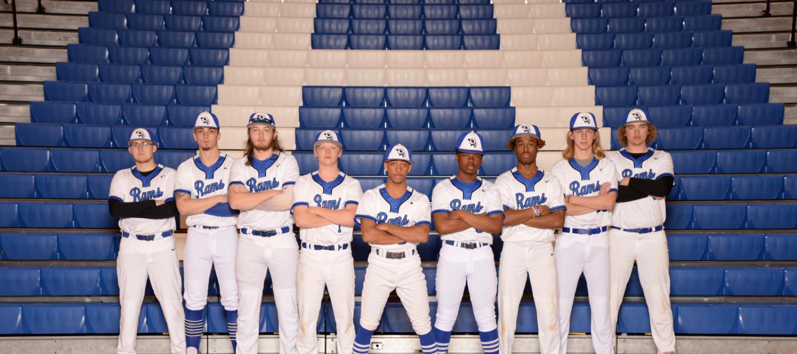 Varsity Baseball Seniors 2020 Team Photo