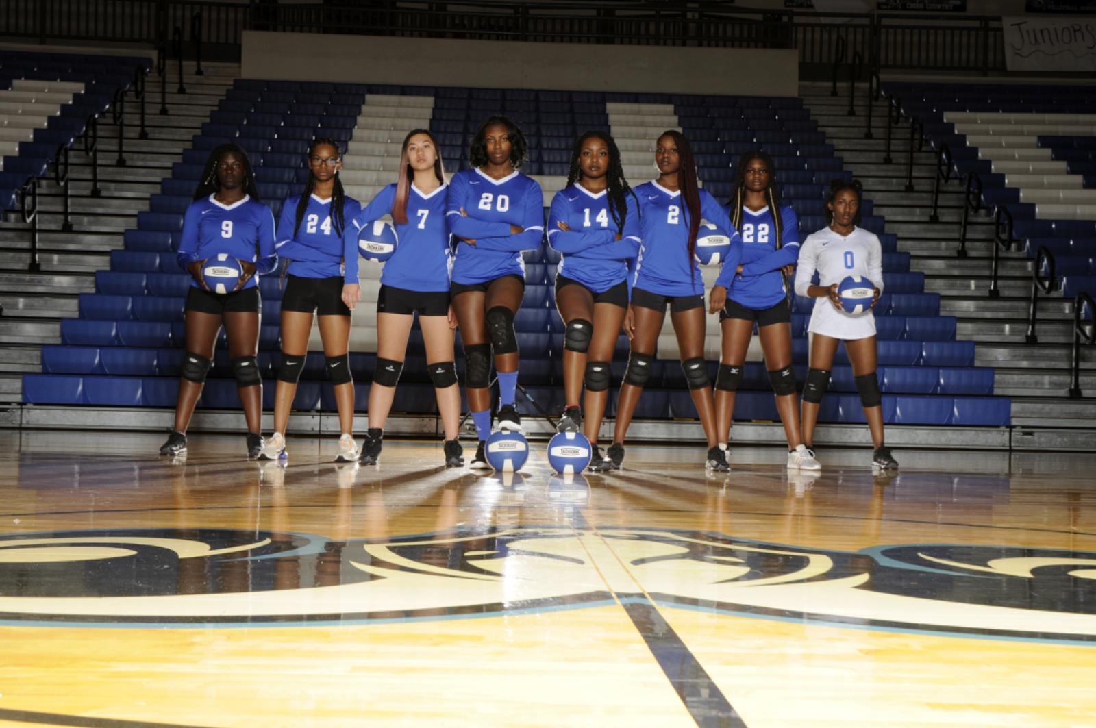 Varsity Volleyball Seniors 2020