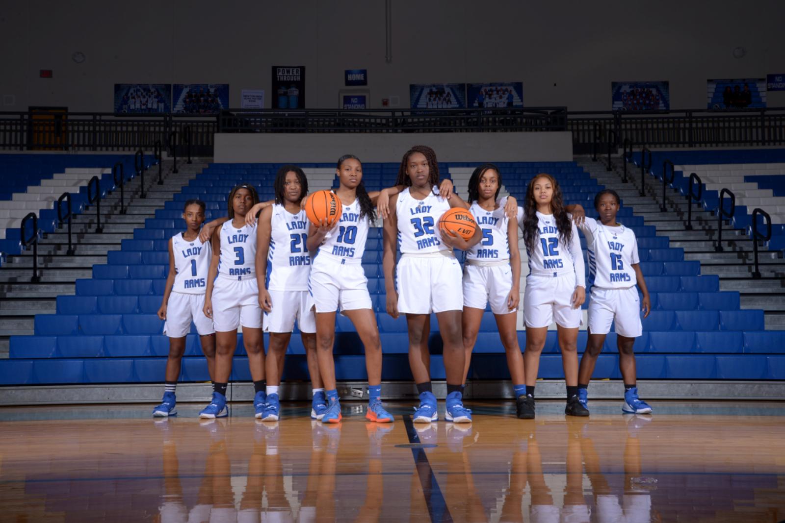 Varsity Girls Basketball Seniors 2020