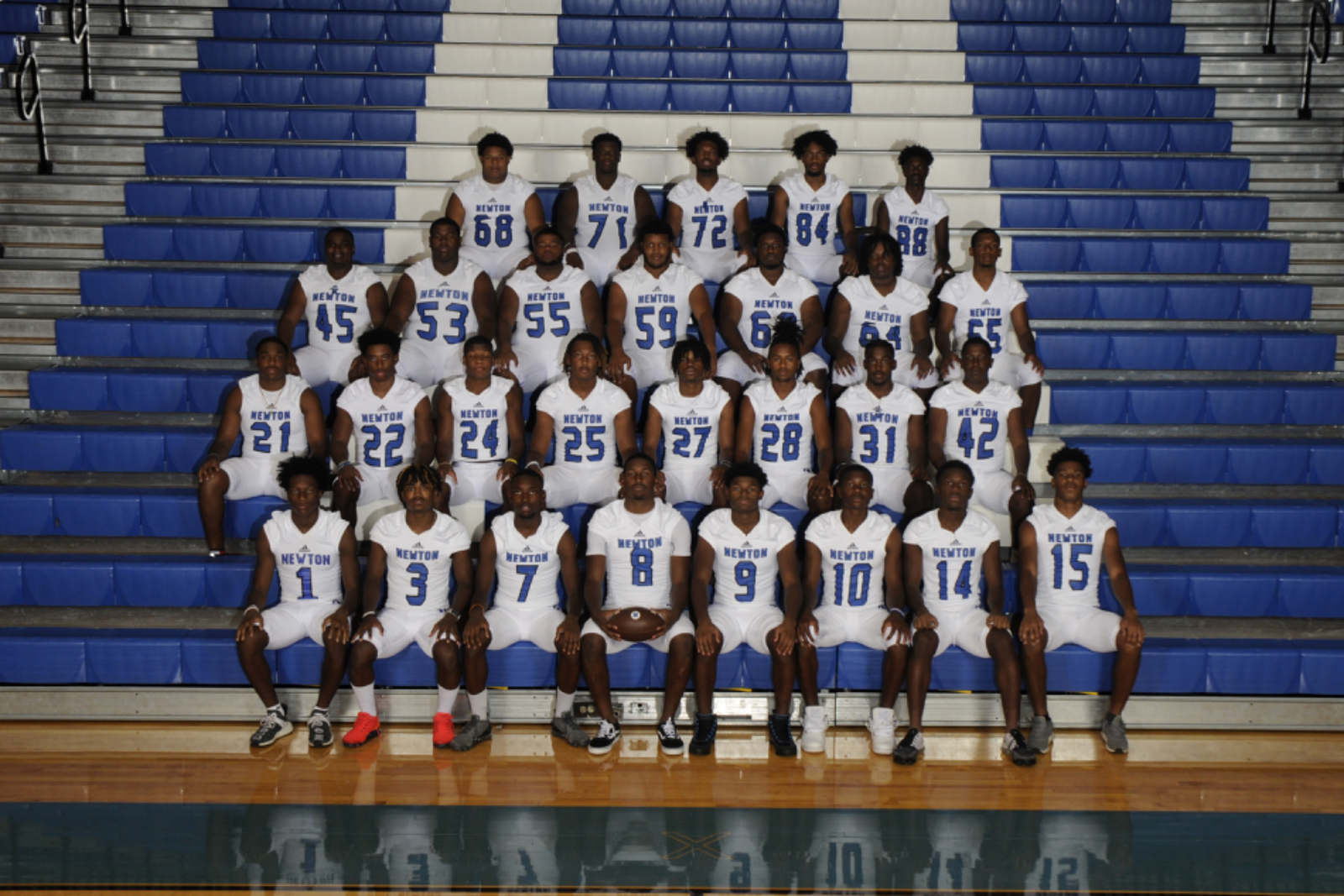 Varsity Football Seniors 2020