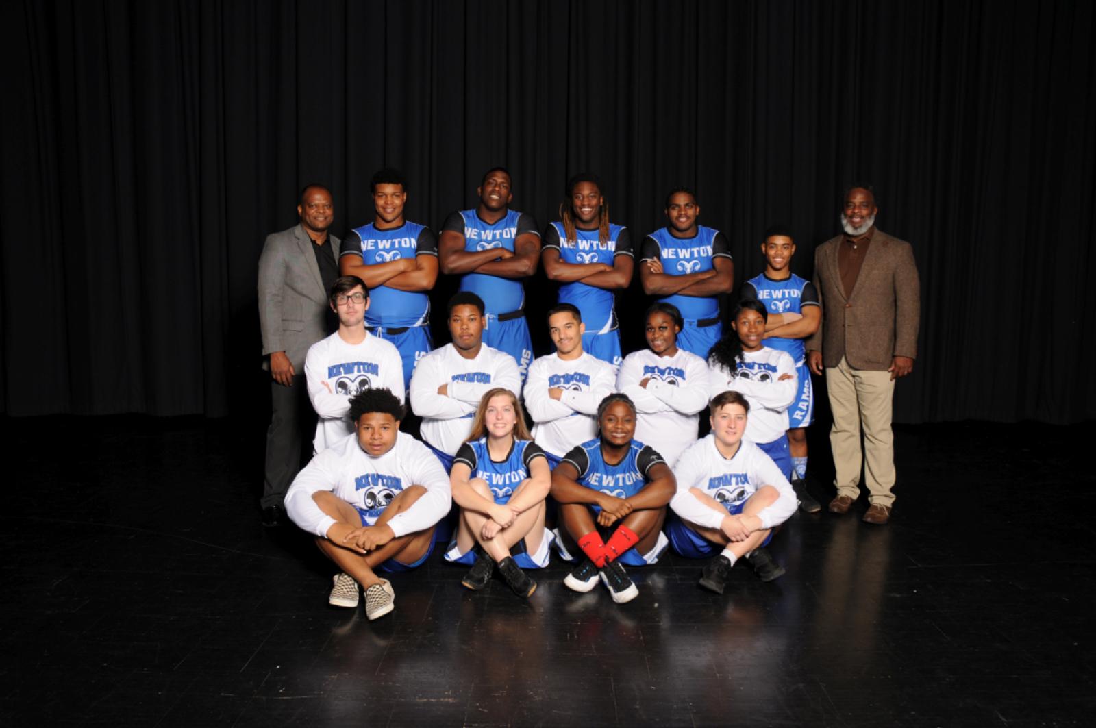 Varsity Wrestling Seniors 2020