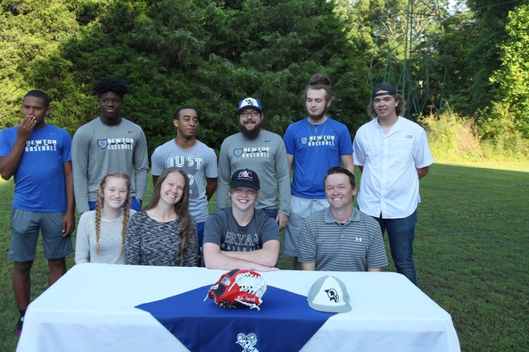 Blake Peacock Signs with Bryan College