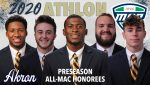 Congratulations to Mike Mathison for being named to Athlon's Preseason All-MAC Conference Team