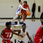 Newton Basketball Split Home Opener with Archer