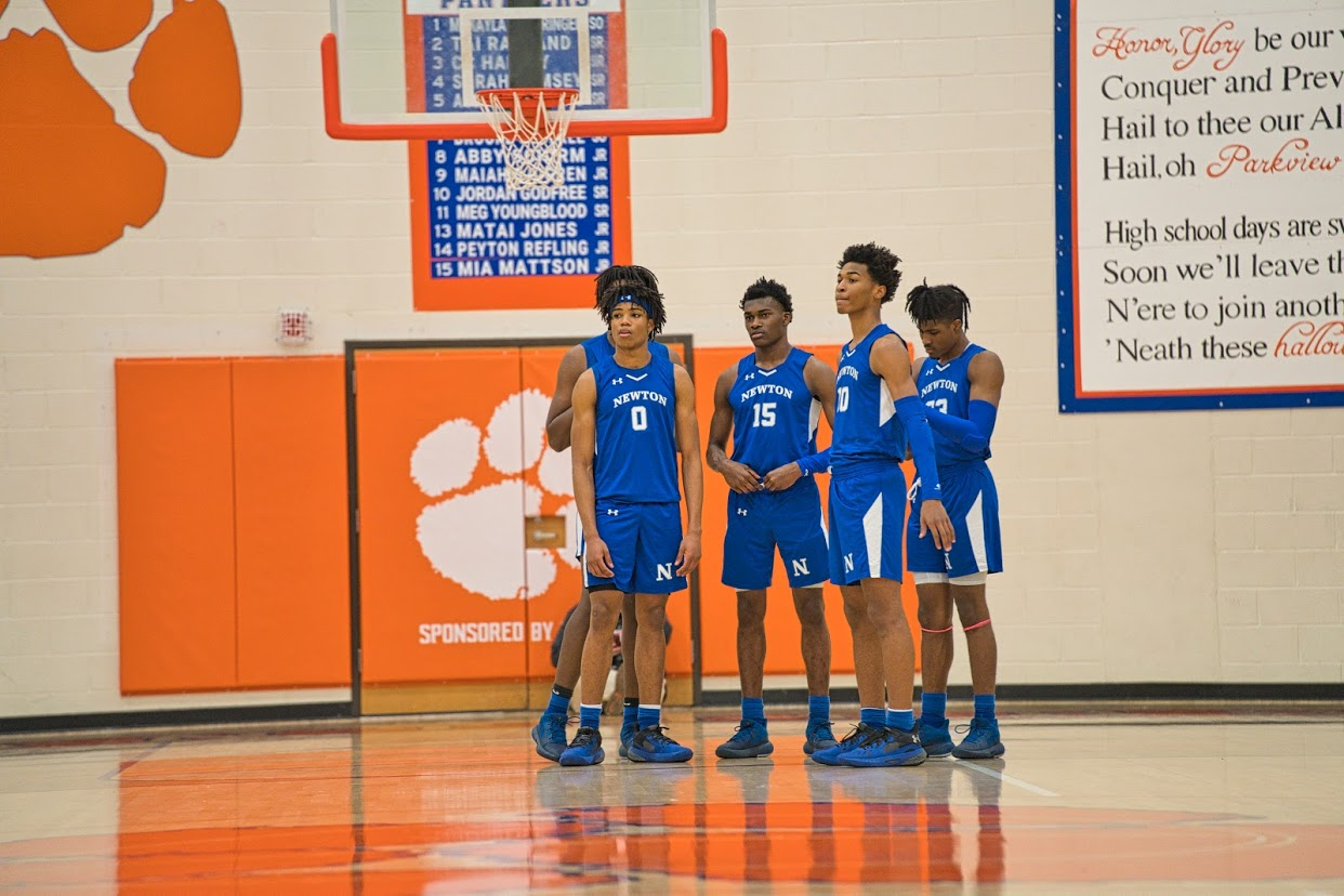 Varsity Boys Basketball v. Parkview Photos