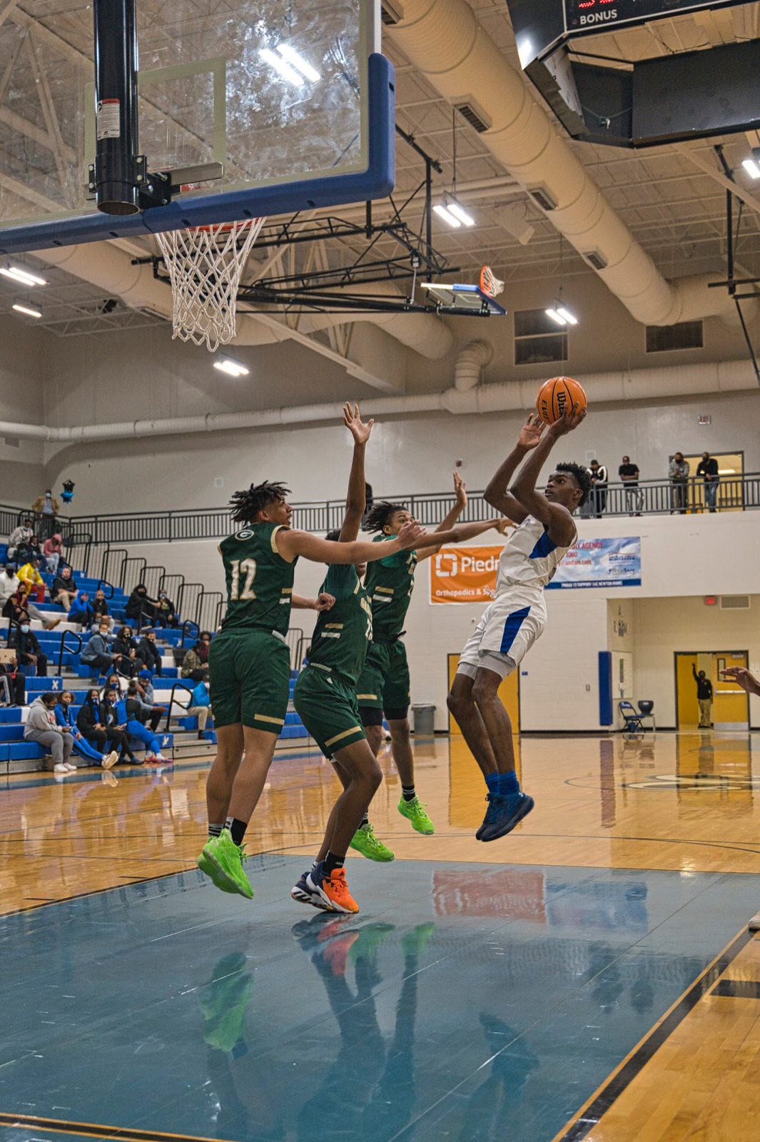 Boys Basketball Travels to Pebblebrook for Sweet 16 Matchup