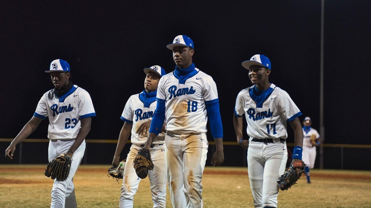 Varsity Baseball Photos v. Monroe Area 2/23
