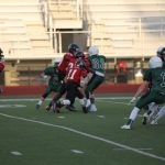 Lovejoy High School Freshman Football beat Lake Dallas High School 47-27