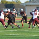 Lovejoy High School Junior Varsity Football beat Sherman High School 14-6