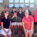 Lovejoy High School Girls Varsity Golf finishes 3rd place