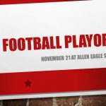 Football Playoffs, Nov. 21 at Allen Eagle Stadium