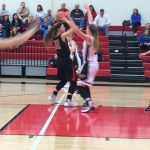 Lovejoy High School Girls Varsity Basketball falls to Melissa High School 53-55