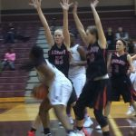 Lovejoy High School Girls Varsity Basketball beat Sherman High School 46-30