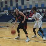 Lovejoy High School Girls Varsity Basketball falls to Wylie East High School 22-34