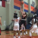 Lovejoy High School Girls Varsity Basketball falls to Mckinney North High School 36-48