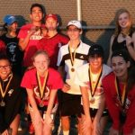 Lovejoy High School Junior Varsity Tennis takes home team championship in the  North Forney High School Tournament