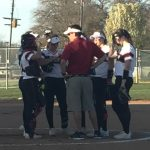 Lovejoy High School Varsity Softball beat Sherman Bearcats 12-6