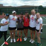 Lovejoy High School Junior Varsity Tennis Team Dominates Individual District Tournament