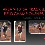 Area 9-10  5A Track Meet