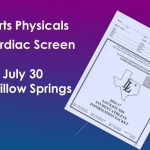9:30 AM – No lines at Sports Physicals!