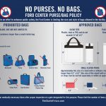 FB Tickets, Purses/Bags for Sept 9th at The Ford Center