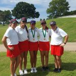 Lovejoy High School Girls Varsity Golf finishes 5th place