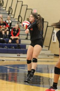 2016 Varsity Volleyball District Games