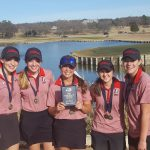 Lovejoy High School Girls Varsity Golf finishes 1st place