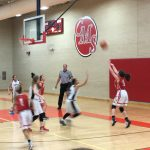 Lovejoy Girls 8th Grade Basketball A falls to Curtis 34-15