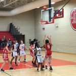 Lovejoy Girls 8th Grade Basketball C beat Allen Curtis 24-11