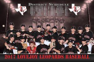 Lovejoy Varsity Baseball Team Photo