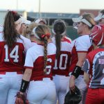 Lovejoy High School Varsity Softball beat Highland Park 17-7